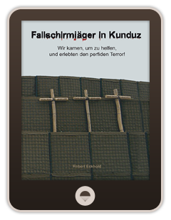 E-Book-Cover Fallschirmjäger in Kunduz